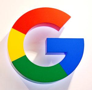 rótulo luminoso google